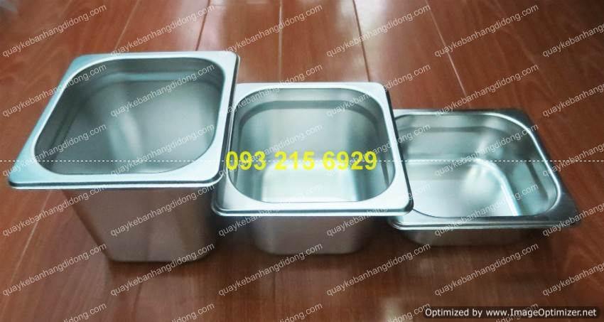 khay inox dung thach topping