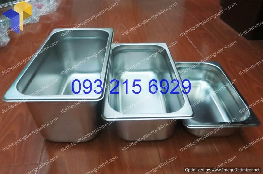 Khay inox buffet