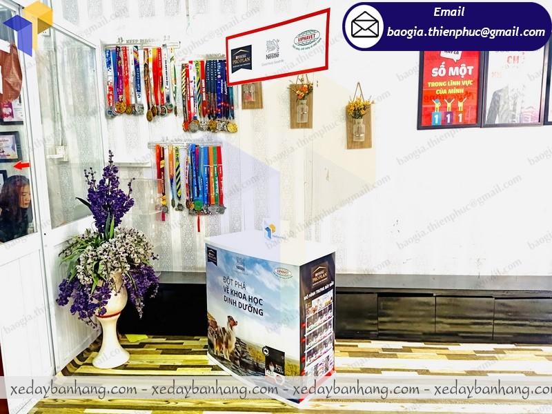 cung cấp booth nhựa bán hàng lưu động