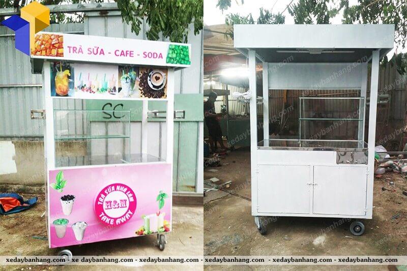 xe bán trà sữa HM