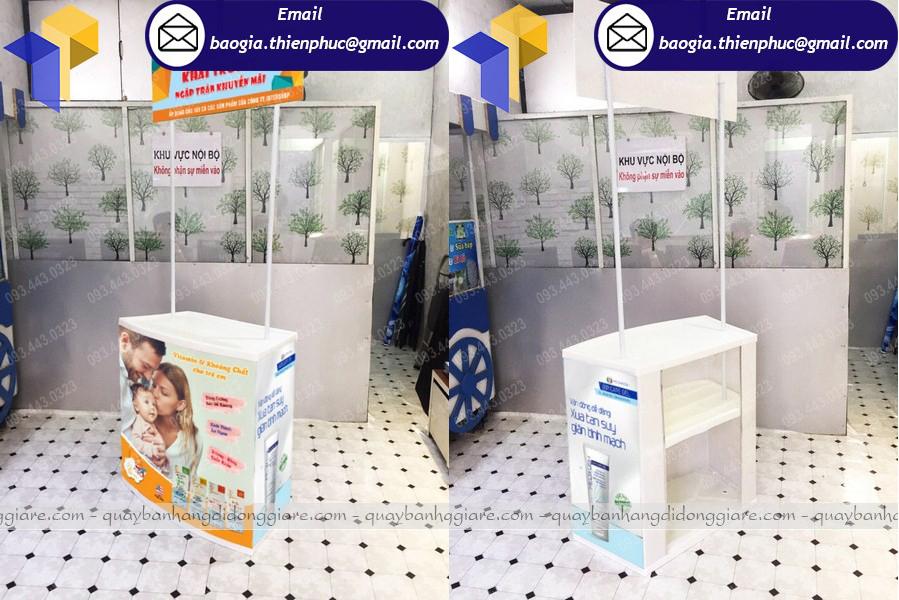 booth quang cáo giá rẻ