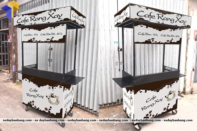 xe đẩy cà phê giá rẻ