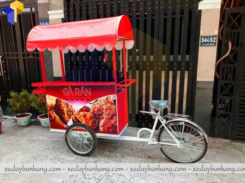 làm xe đạp bán hàng