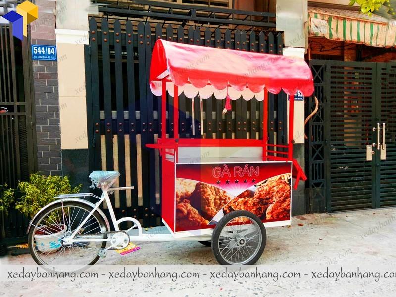 xe đạp bán hàng đẹp