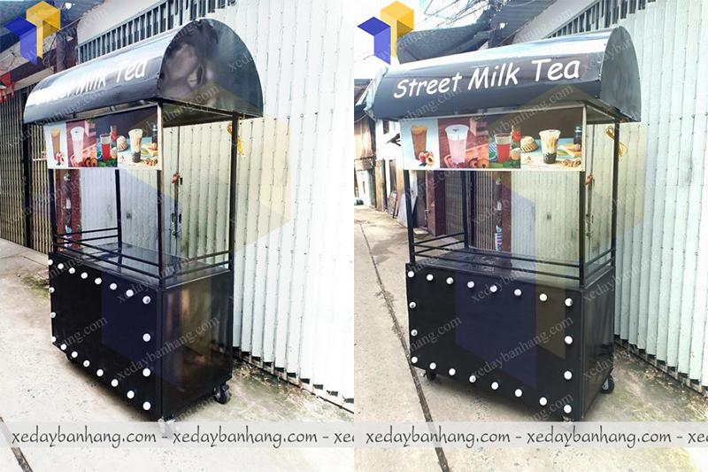 xe bán trà sữa street milk giá rẻ